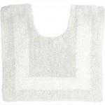 Super Soft Reversible White Pedestal Mat White