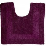Super Soft Reversible Grape Pedestal Mat Grape (Purple)