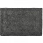 Super Soft Reversible Charcoal Bath Mat Charcoal (Grey)