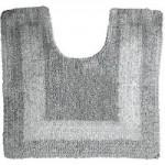 Super Soft Reversible Charcoal Pedestal Mat Charcoal (Grey)