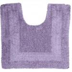 Super Soft Reversible Lavender Pedestal Mat Lavender (Purple)
