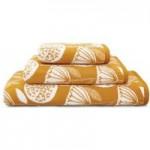 Elements Emmott Ochre Towel Ochre