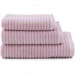 Ribbed Lilac Towel Purple