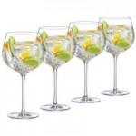 Set of 4 Ella Sabatini The Perfect Gin Glasses Clear