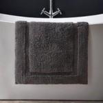 Hotel Cotton Graphite Bath Mat Graphite
