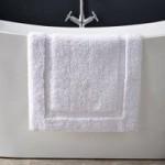 Hotel Cotton White Bath Mat White