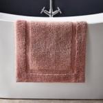 Hotel Cotton Dusky Pink Bath Mat Dusky Pink