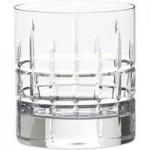 Set of 2 Crystal Cut Glass 300ml Tumbler Glasses Clear