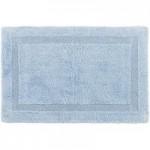Dorma Silk Blend Sky Bath Mat Blue